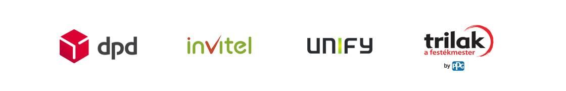 ContentPlus referenciák: DPD, Invitel, Unify, Trilak