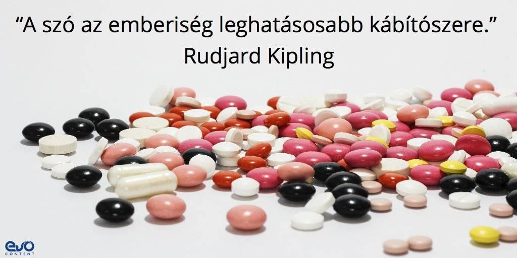 Gyógyszerek: a szavak kábítószerek
