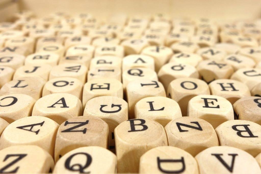 betűs dobókockák