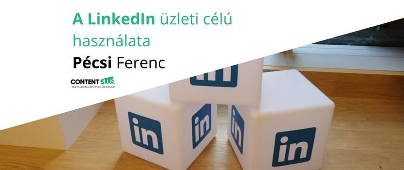 Dobokockák LinkedIn felirattal