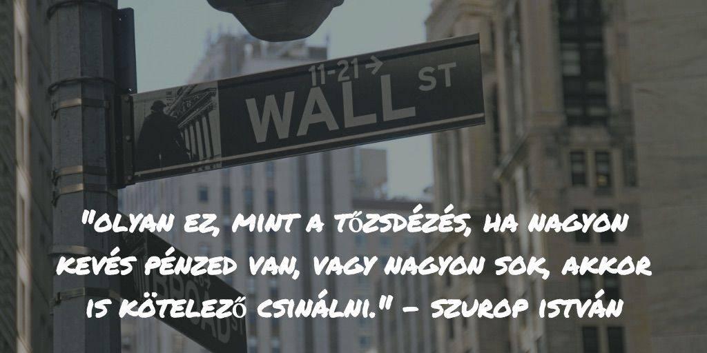 Wall street utcafelirat