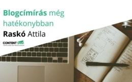 Blogírás még hatékonyabban varázsszavak használatával