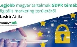 Legjobb magyar nyelvű tartalmak GDPR témában digitális marketing területéről