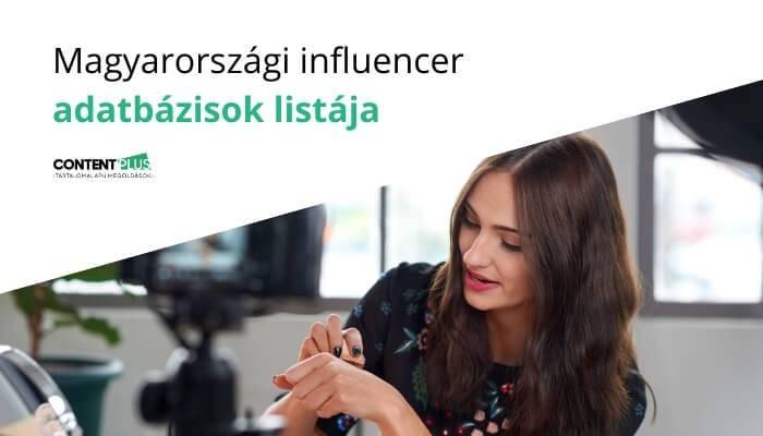 Egy influencer vlogot készít