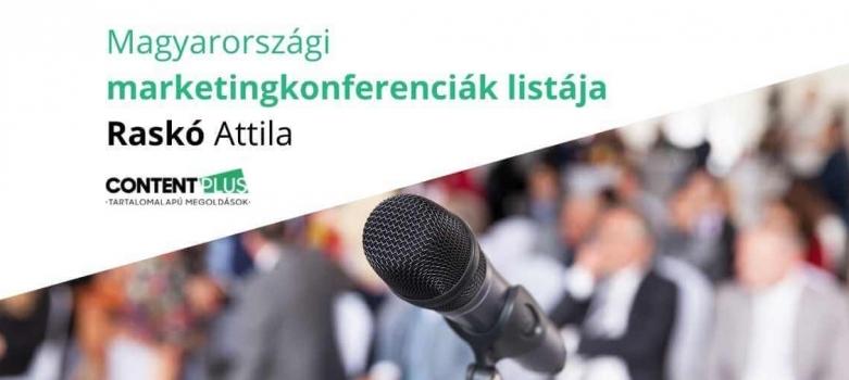 Évente ismétlődő magyar marketingkonferenciák teljes listája