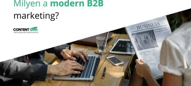 E-book: Milyen a modern B2B marketing?