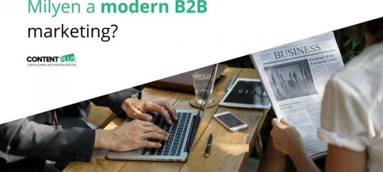 E-book: Milyen a modern B2B marketing?