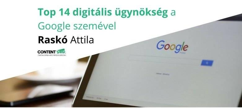 Top 14 magyar digitális marketing- és digitális ügynökség a Google szemével